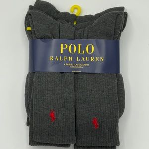 Polo Ralph Lauren Classic Sport socks 6x